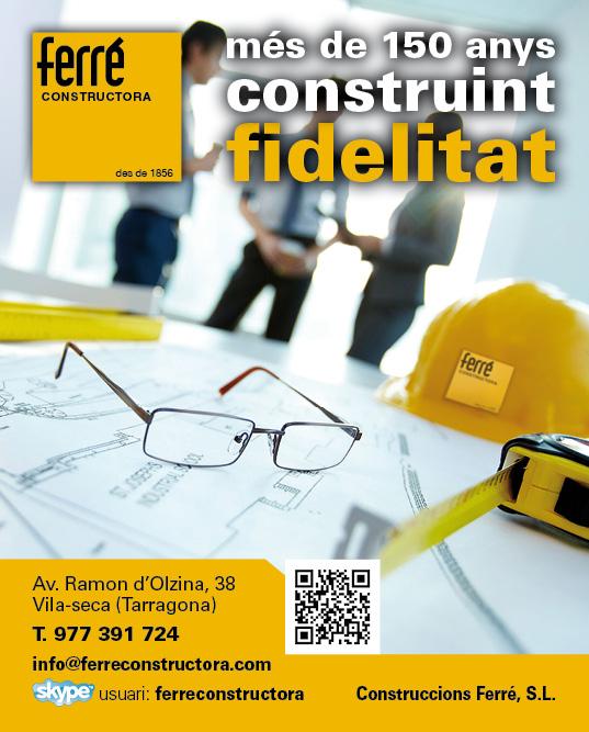 Ferr constructora m s de 150 anys construint fidelitat - Constructora reus ...