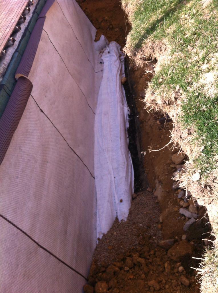 Sistema de drenatge e impermeabilitzacio de murs al - Constructora reus ...