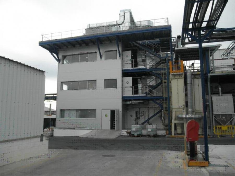 Construcci n planta de saponificaci n en novus tarragona reus ferre constructora reformas - Constructora reus ...