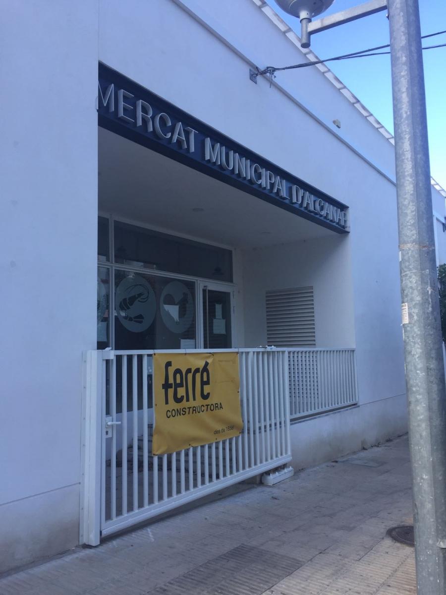 Reforma del mercat municipal d 39 alcanar tarragona reus ferre constructora reformas - Constructora reus ...