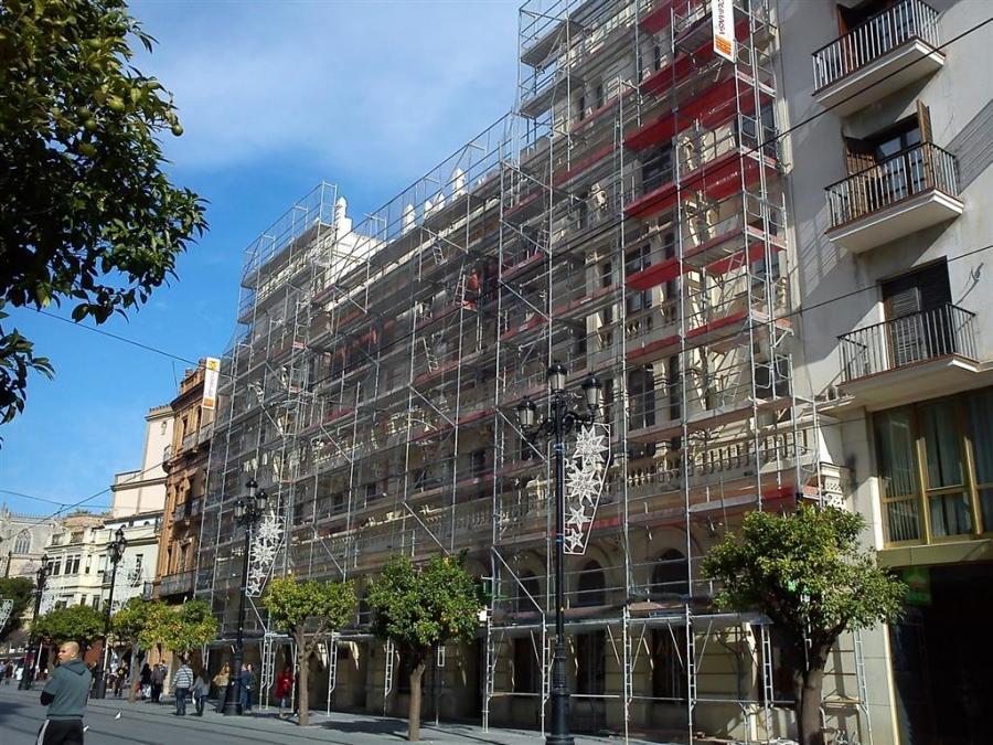 Obra empresa constructora reformas rehabilitaci n edificios bloques pisos tarragona reus - Constructora reus ...